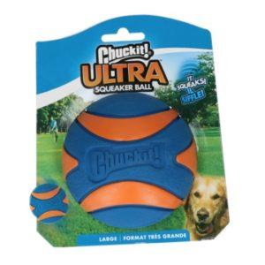 Chuckit Ultra Squeaker Ball L