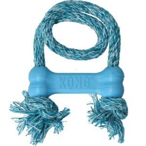 blau-kong-puppy-goodie-bone-mit-seil-